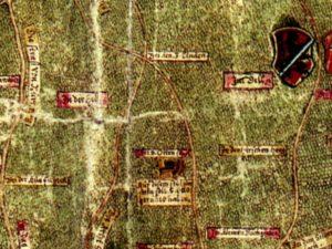 Diese historische Karte weckte das Interesse der Hobby-Historiker. © Repro: Hertel